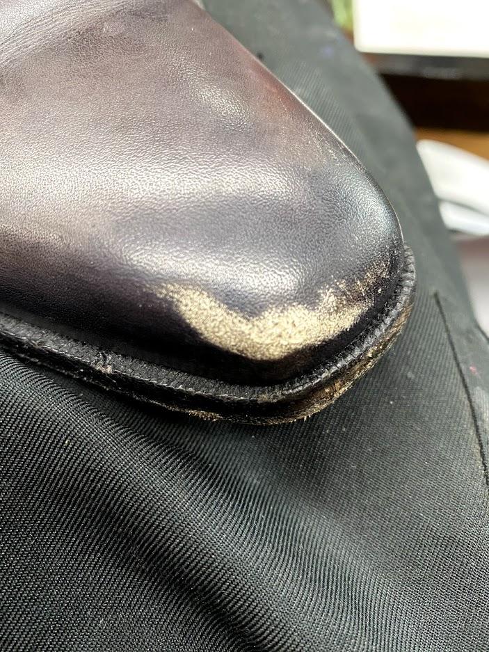 靴のつま先の傷を消す【ベルルッティで実践】【家でできる】【手順】