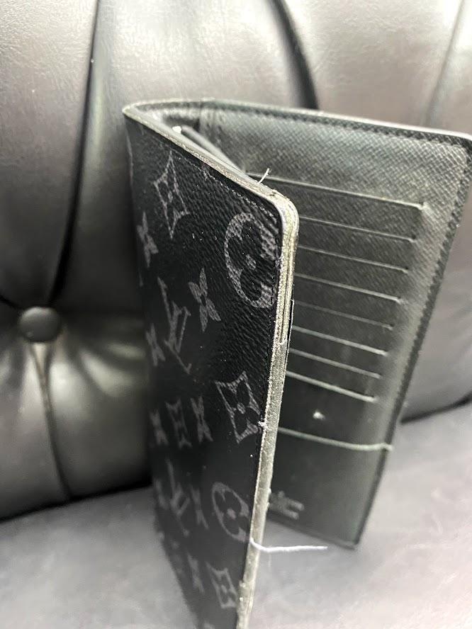 【ルイヴィトン(Louis Vuitton)】財布のふちが溶けた